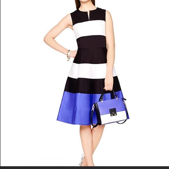 kate spade Dresses & Skirts - Kate Spade Corley Colorblock Midi Dress